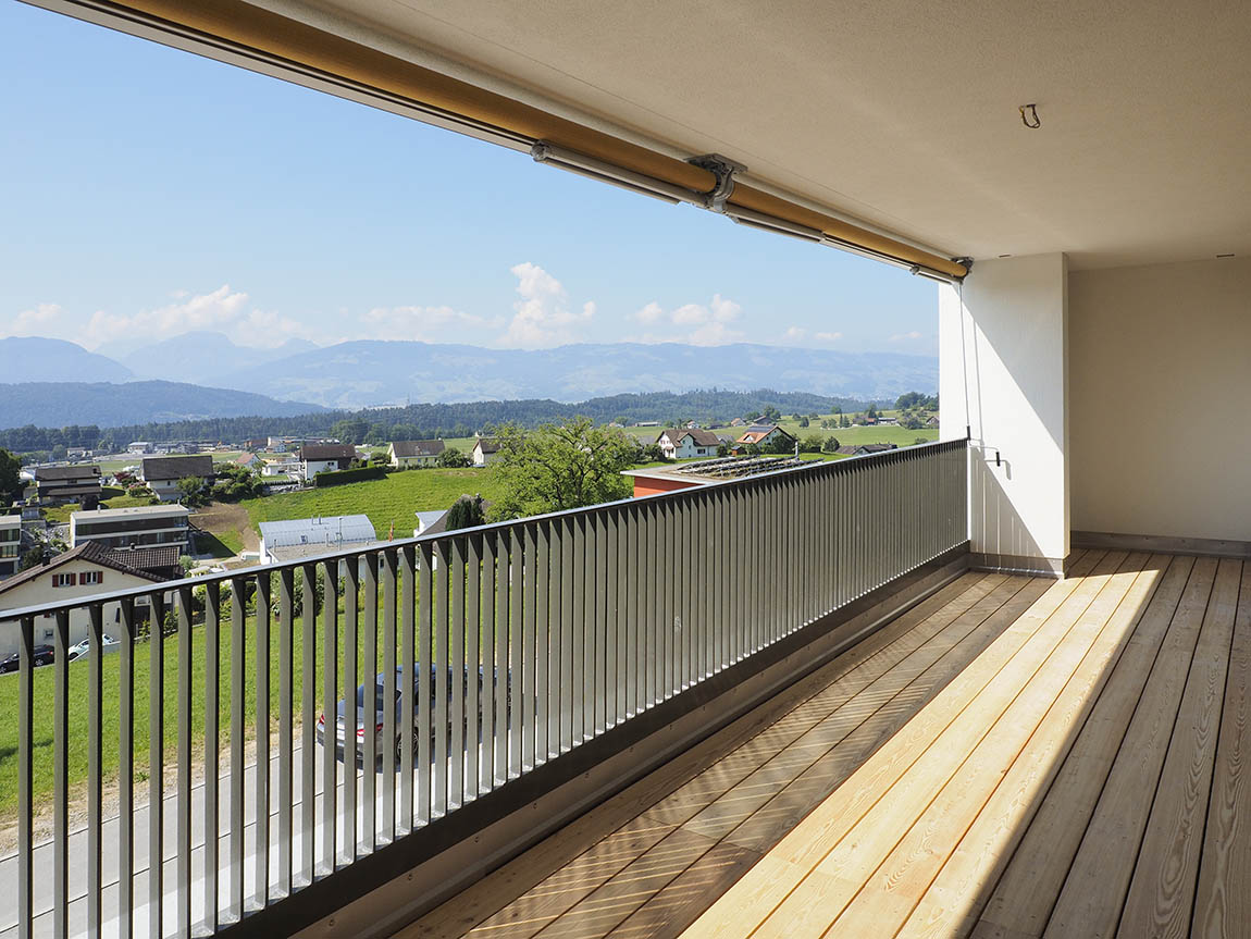 Balkon fertig